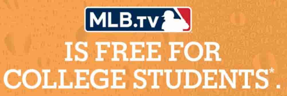 College Students: Sign Up Now For MLB TV For Free