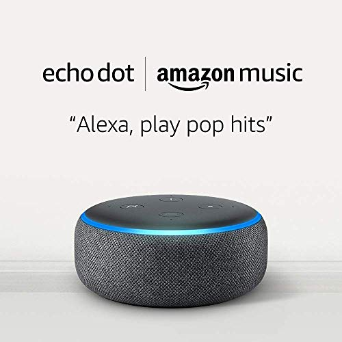 New Accounts: Echo Dot 3rd Gen And 1 Month Of Amazon Music Unlimited For $8.98-$10.98 From Amazon, Or $0.99 With An AMEX Platinum! - DansDeals.com