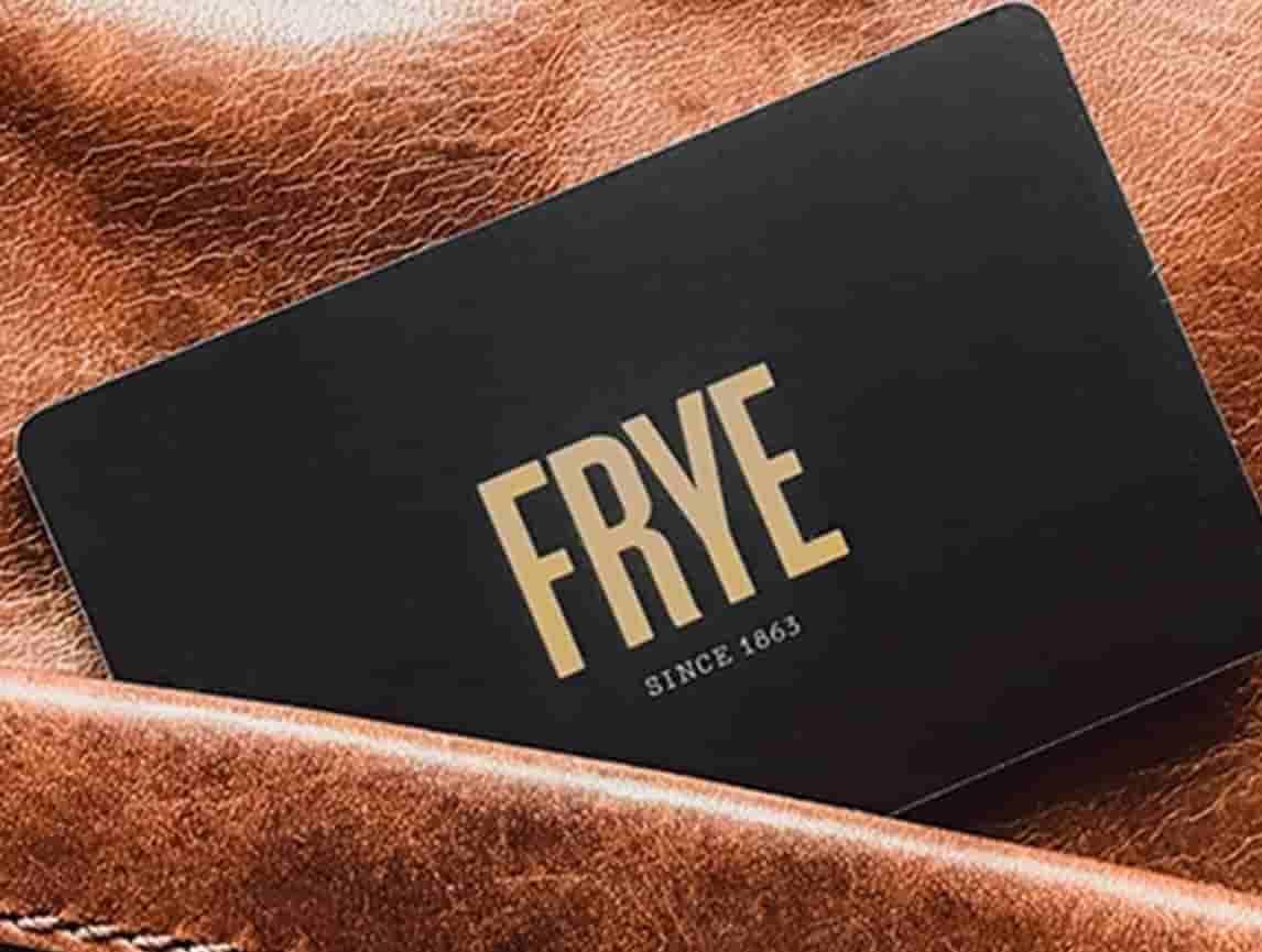 $50 The Frye Company Gift Card