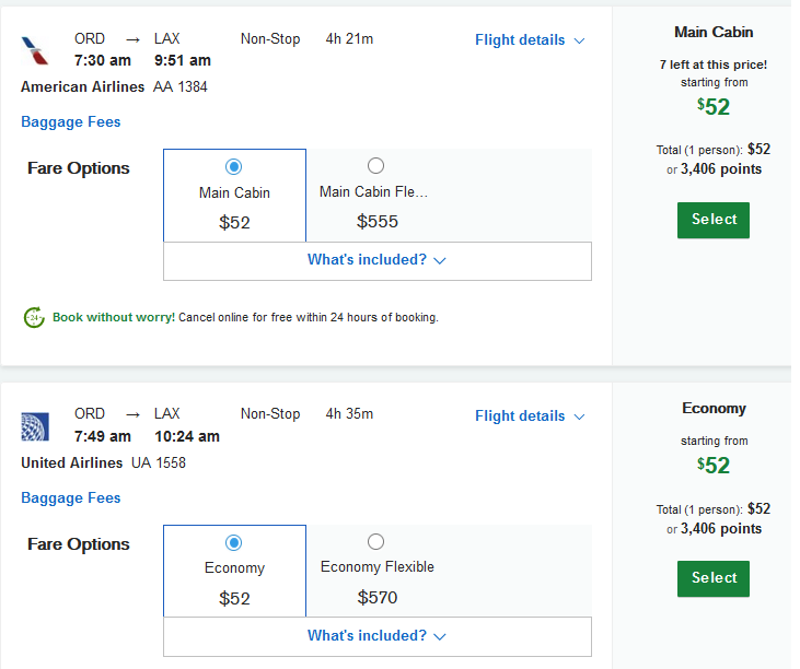 Aa United Fly Nonstop In Standard Economy Between Chicago And Los Angeles For Just 51 Or 2 9k Hybrid Points Each Way Dansdeals Com,Bathroom Floor Design Ideas